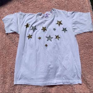 Vintage celestial stars t shirt